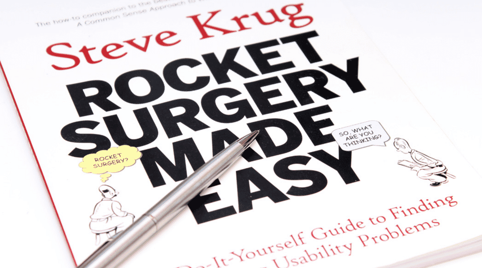 User Research Book: Rocket Surgery Made Easy