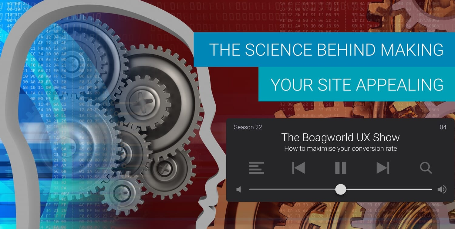 The Science Behind Making Your Site Appealing - Boagworld Show