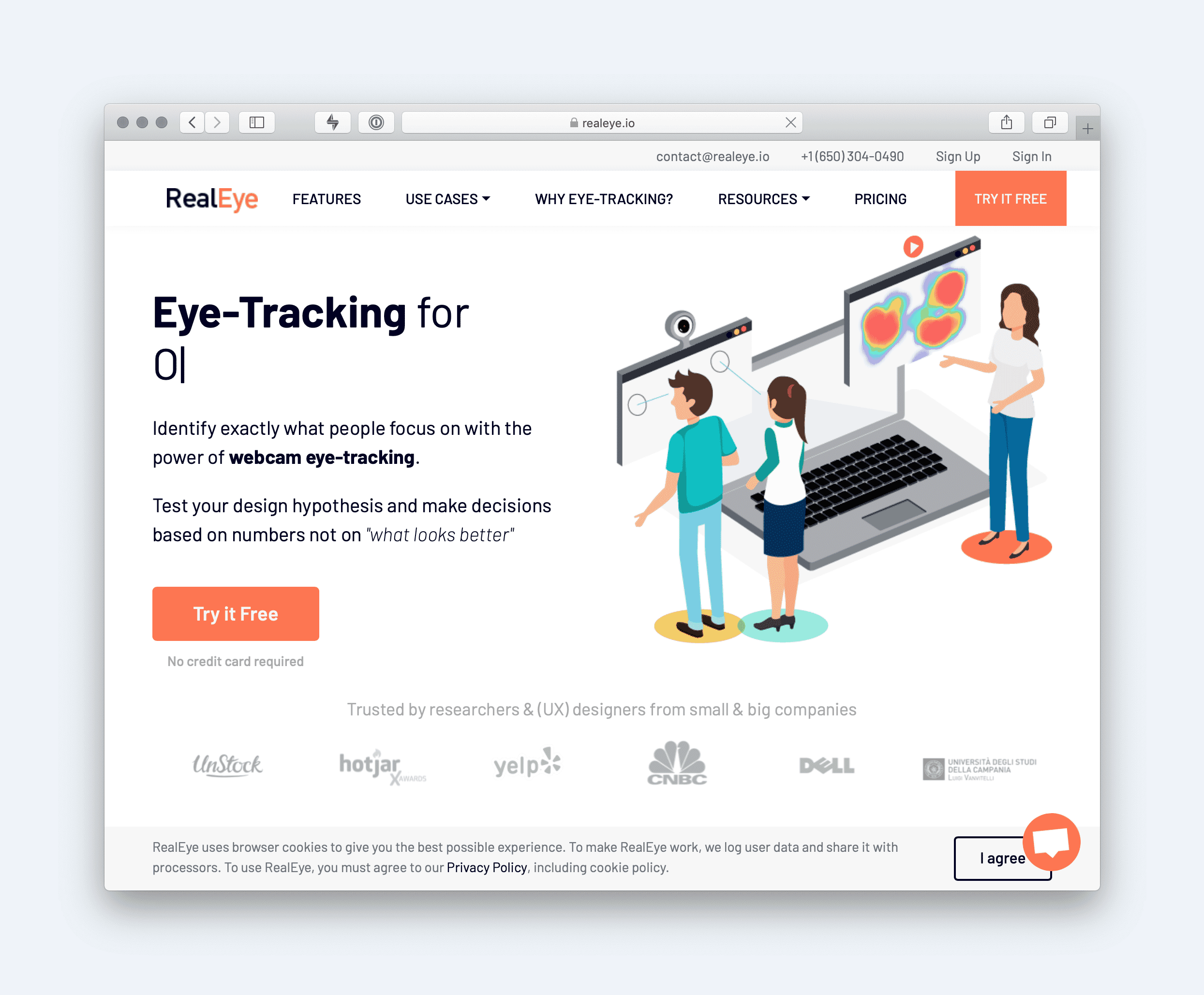Real Eye Website