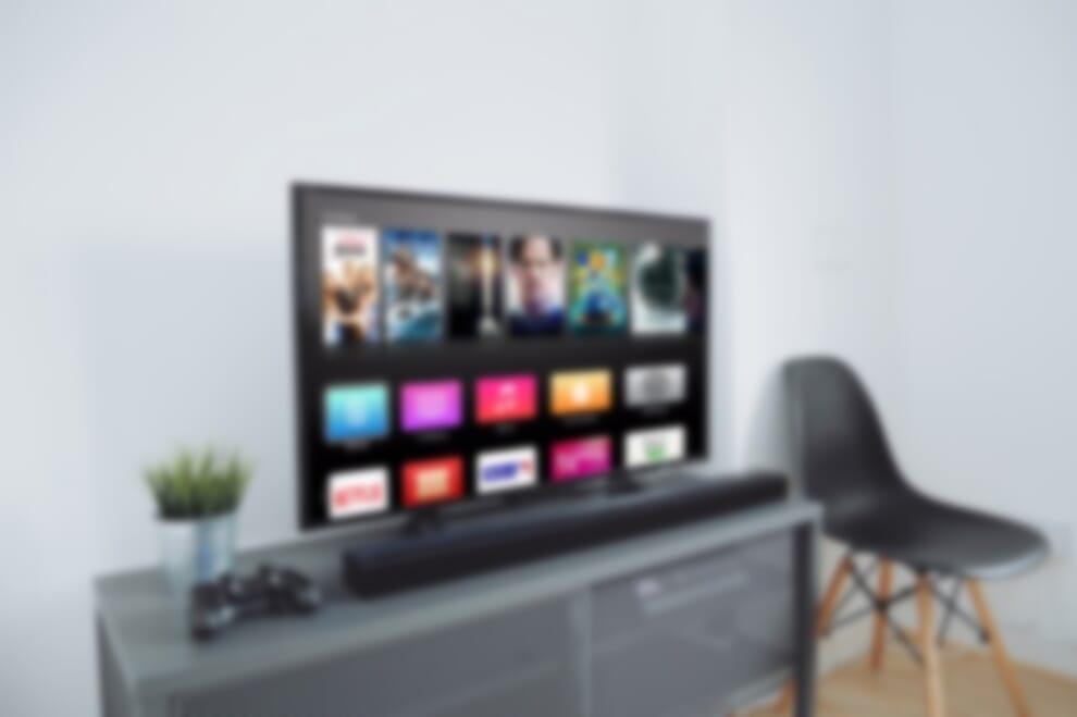 Blurry Apple TV