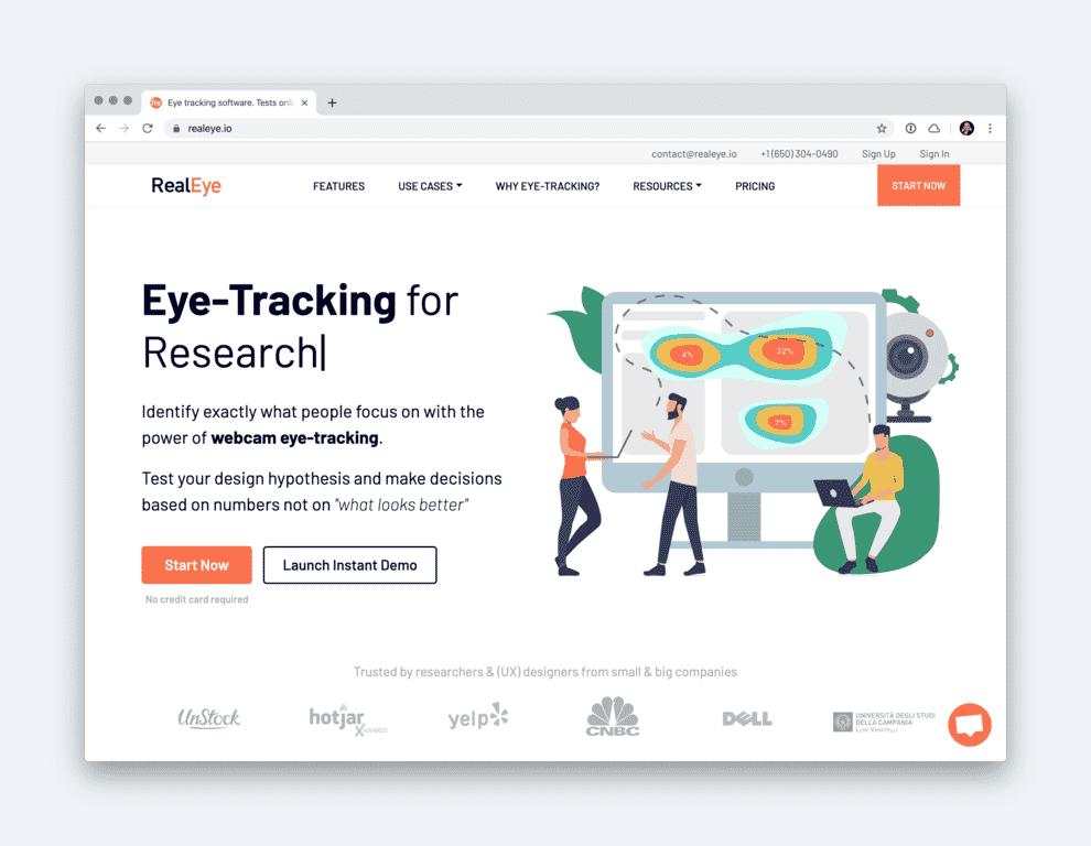 RealEye Homepage