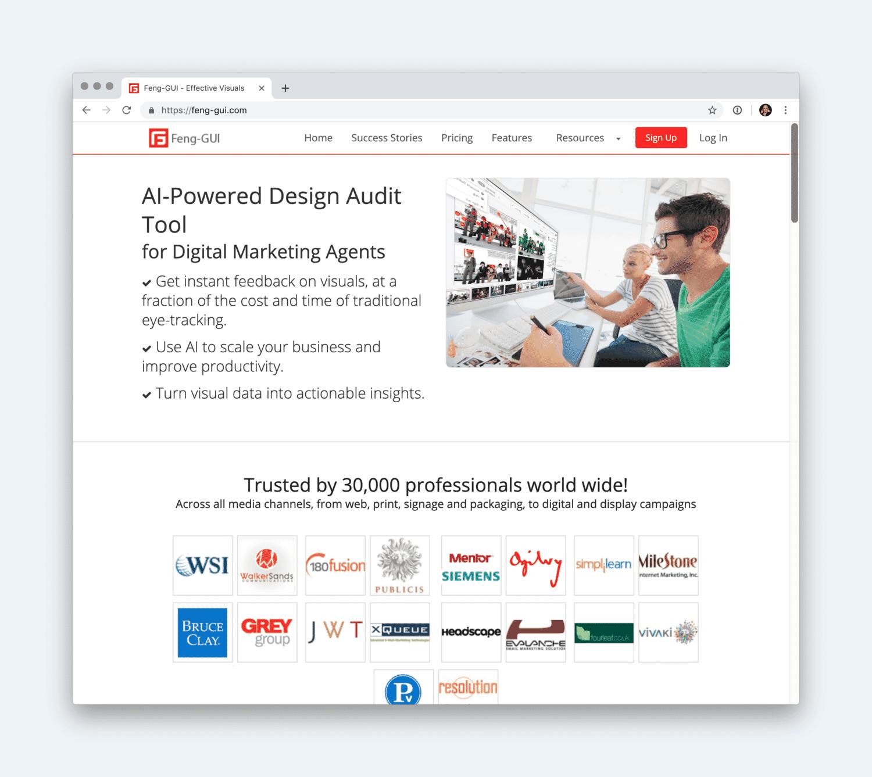 Feng GUI website.