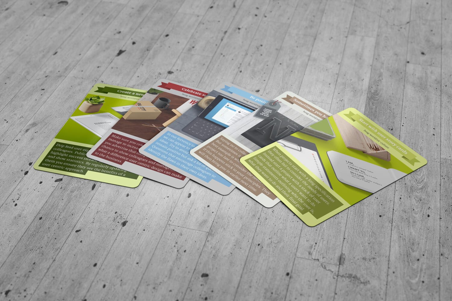 User Experience Revolution Culture Cards